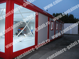 container modular second hand pret Mehedinti